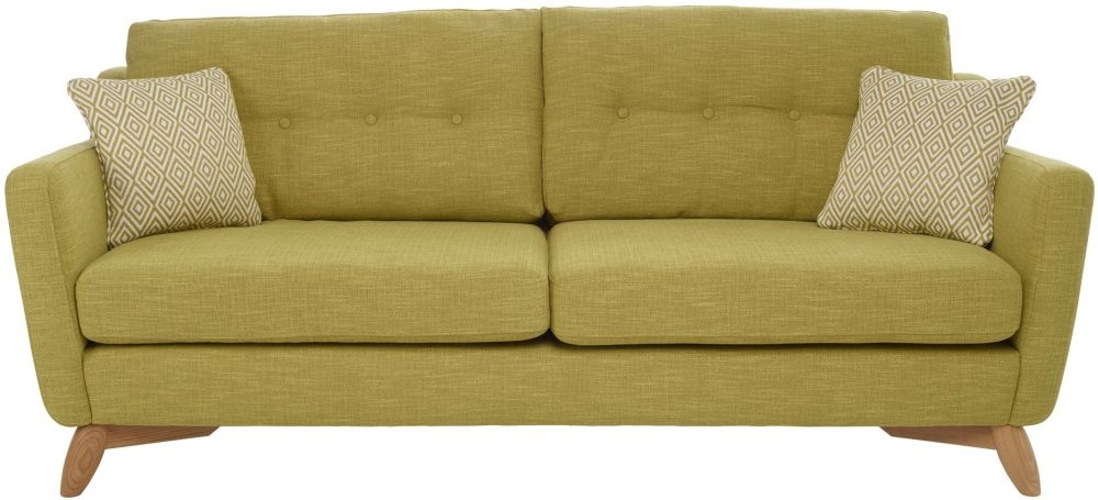 Ercol Cosenza 4 Seater Large Fabric Sofa
