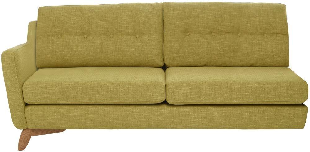 Ercol Cosenza Left Hand Facing Large Fabric Sofa Unit