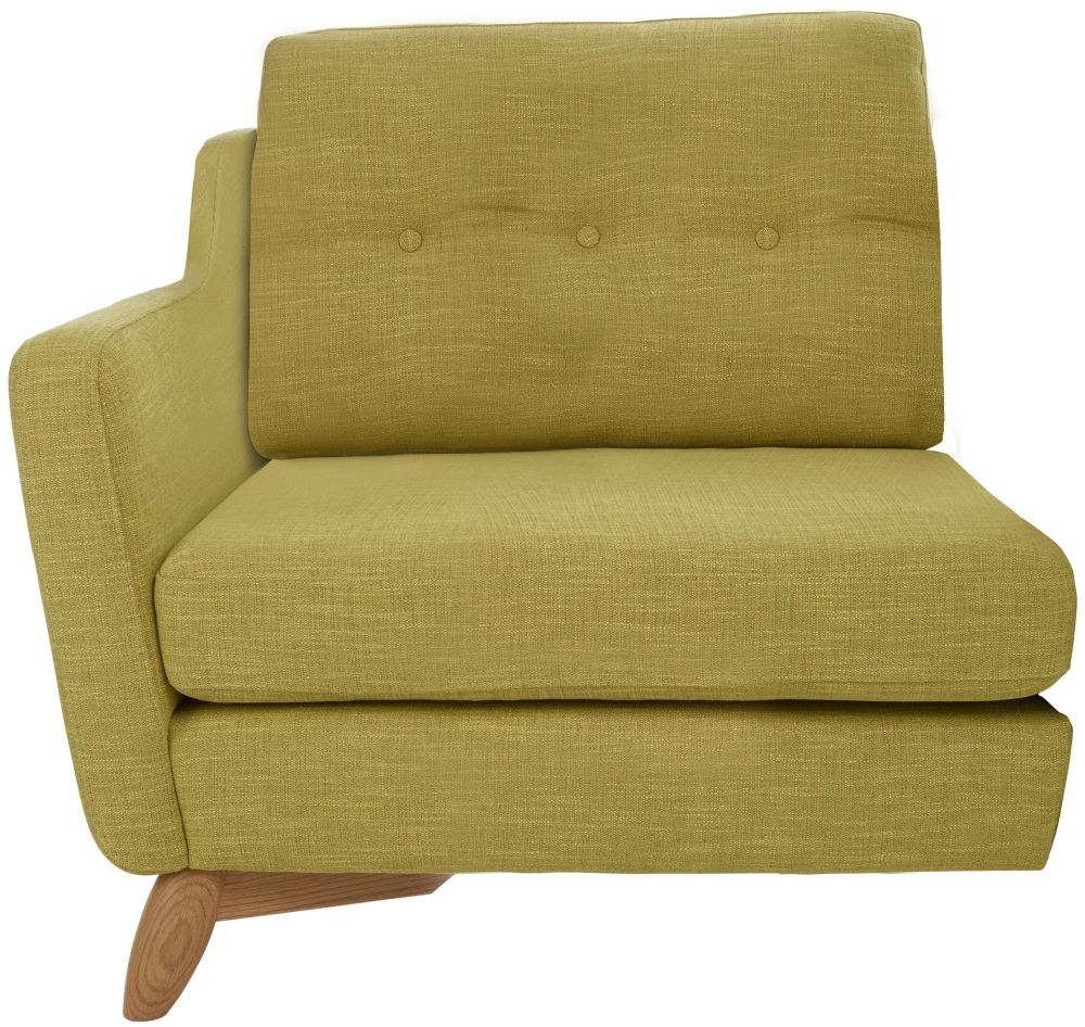 Ercol Cosenza Left Hand Facing Small Fabric Sofa Unit
