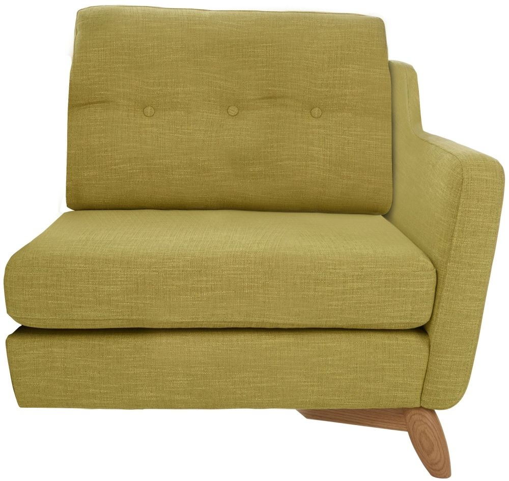 Ercol Cosenza Right Hand Facing Small Fabric Sofa Unit