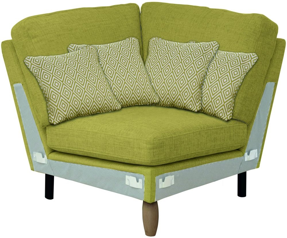 Ercol Cosenza Square Corner Fabric Sofa Unit