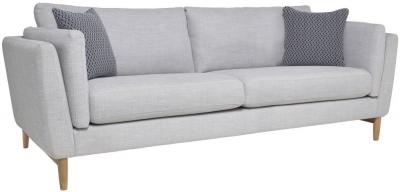Ercol Favara 3 Seater Large Fabric Sofa