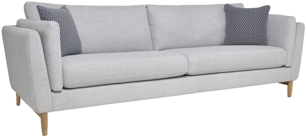 Ercol Favara 4 Seater Grand Fabric Sofa