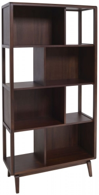 Ercol Lugo Tulipwood Shelving Unit