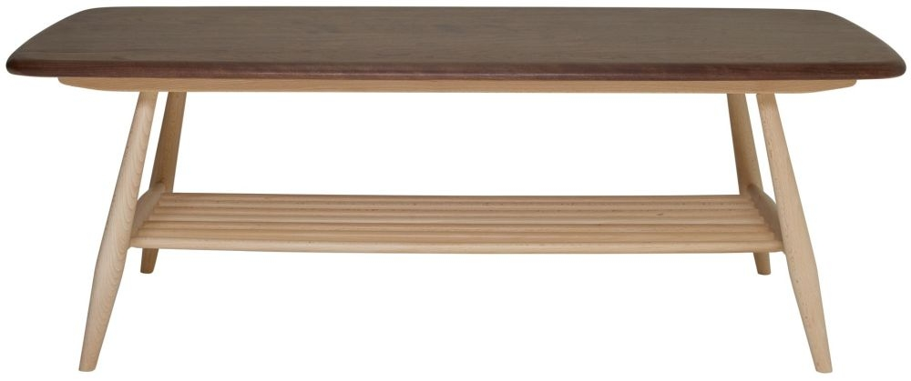 Ercol Originals Coffee Table - Walnut and Beech