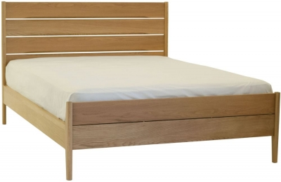 Ercol Rimini Oak Bed