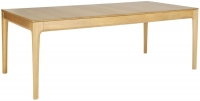 Ercol Romana Large Extending Dining Table - Oak