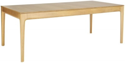 Ercol Romana Oak Large Extending Dining Table