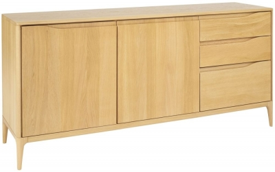 Ercol Romana Oak Large Sideboard