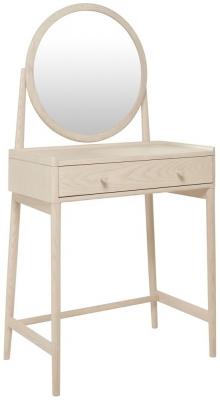 Ercol Salina Dressing Table and Mirror