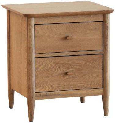 Ercol Teramo Oak Bedside Cabinet