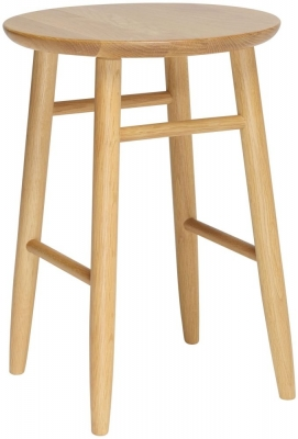 Ercol Teramo Oak Dressing Stool
