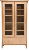 Ercol Teramo Oak Display Cabinet
