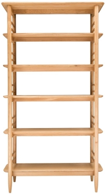 Ercol Teramo Oak Open Shelving Unit