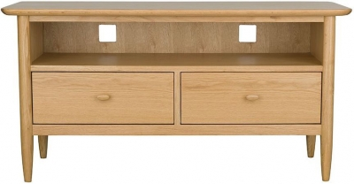 Ercol Teramo Oak TV Unit