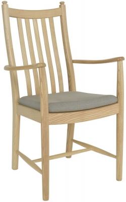 Ercol Penn Oak Classic Dining Armchair