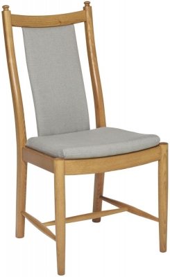 Ercol Penn Oak Padded Back Dining Chair