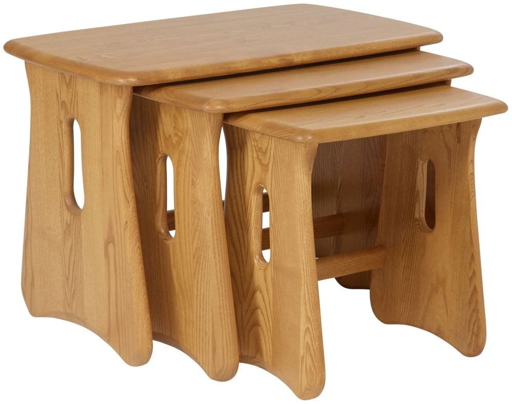 Ercol Windsor Nest of Tables