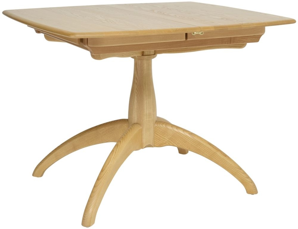 Ercol Windsor Small Extending Pedestal Dining Table