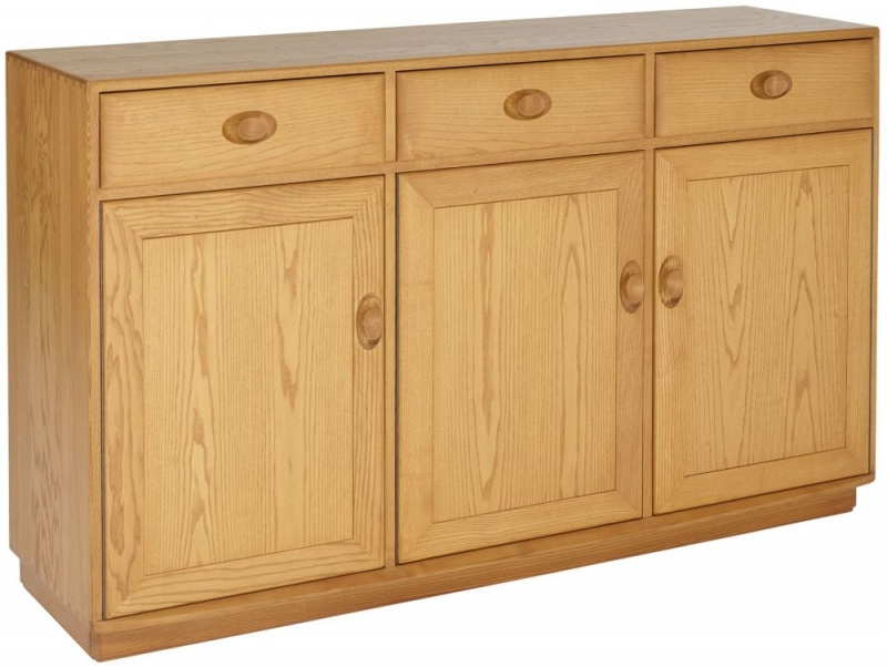 Ercol Windsor Large High Sideboard