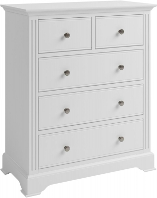 Ashby White Painted 2+3 Drawer Chest