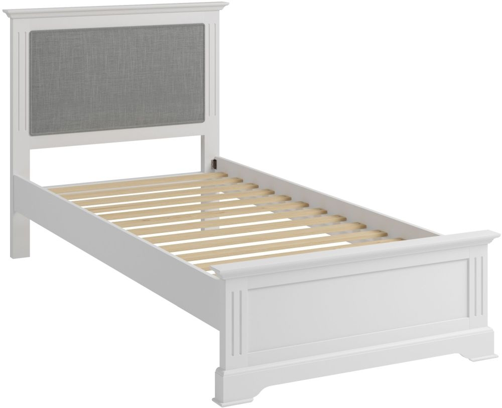 Ashby White Painted Bed