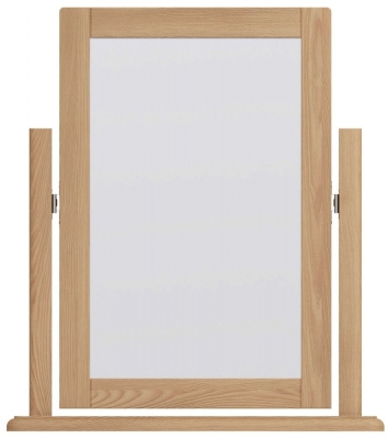 Eva Light Oak Dressing Mirror