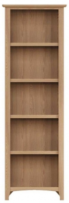 Eva Light Oak Tall Bookcase