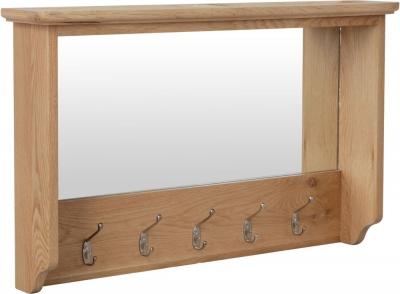 Eva Light Oak Hall Bench Top