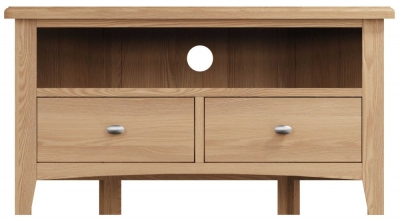 Eva Light Oak Corner TV Unit