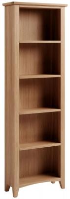 Eva Light Oak Tall Bookcase