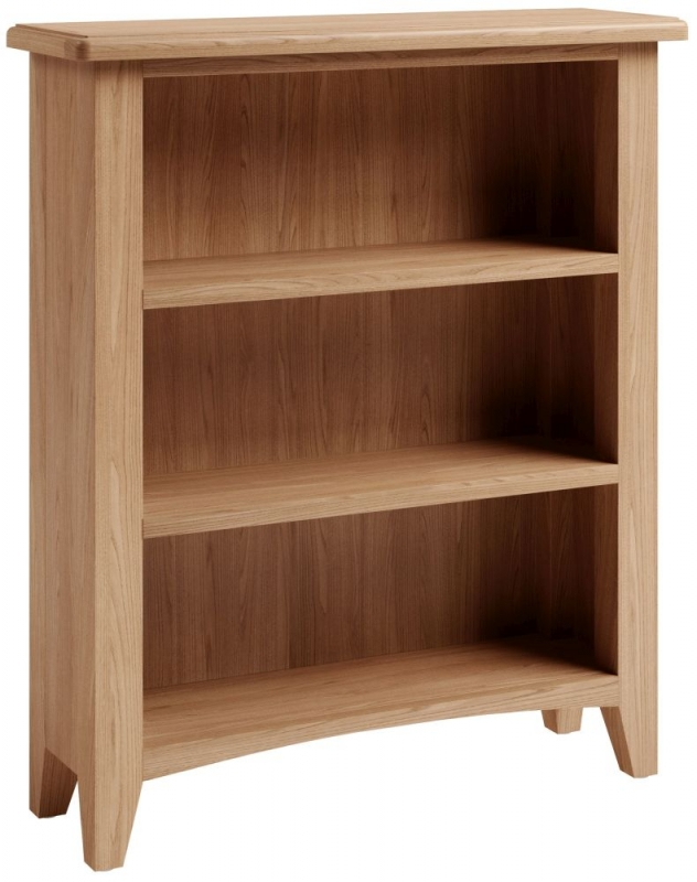 Eva Light Oak Bookcase