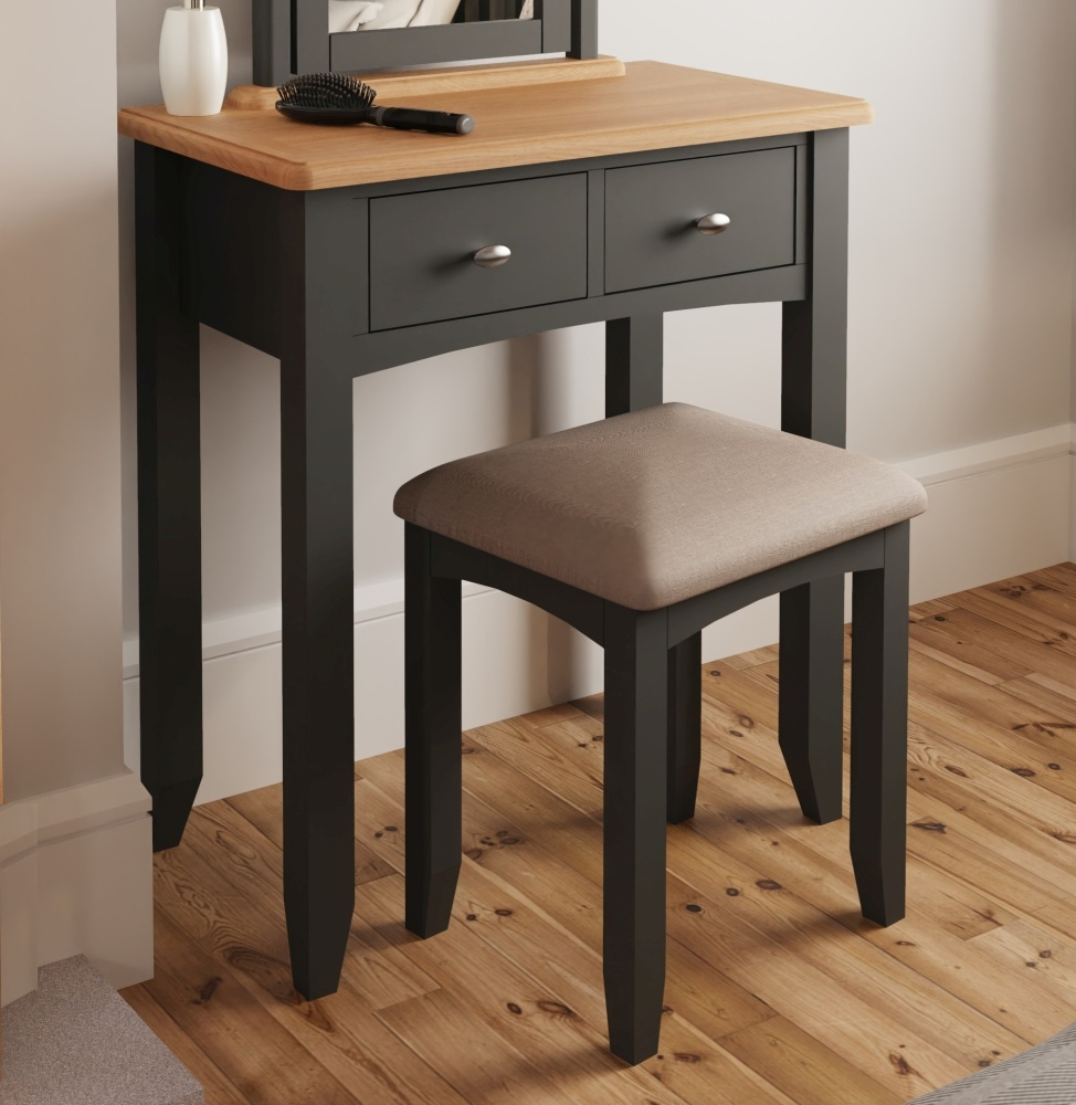 Graceton Oak and Grey Painted Dressing Table