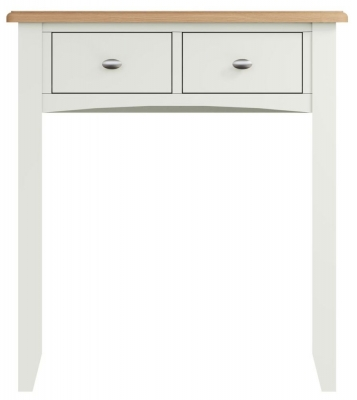 Graceton Oak and White Painted Dressing Table