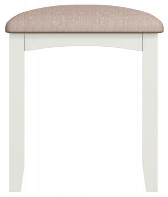 Graceton White Painted Bedroom Stool