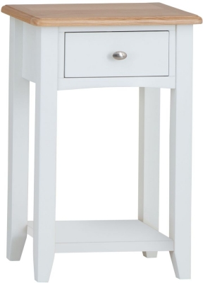 Graceton Oak and White Painted Telephone Table