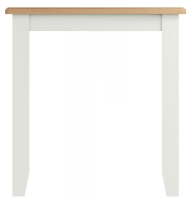 Graceton Oak and White Painted Square Dining Table