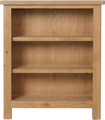 Hampton Rustic Oak Bookcase