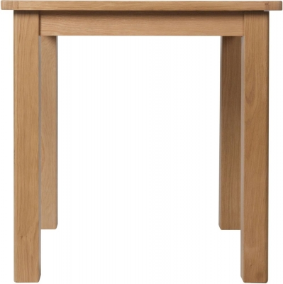 Hampton Rustic Oak Square Dining Table