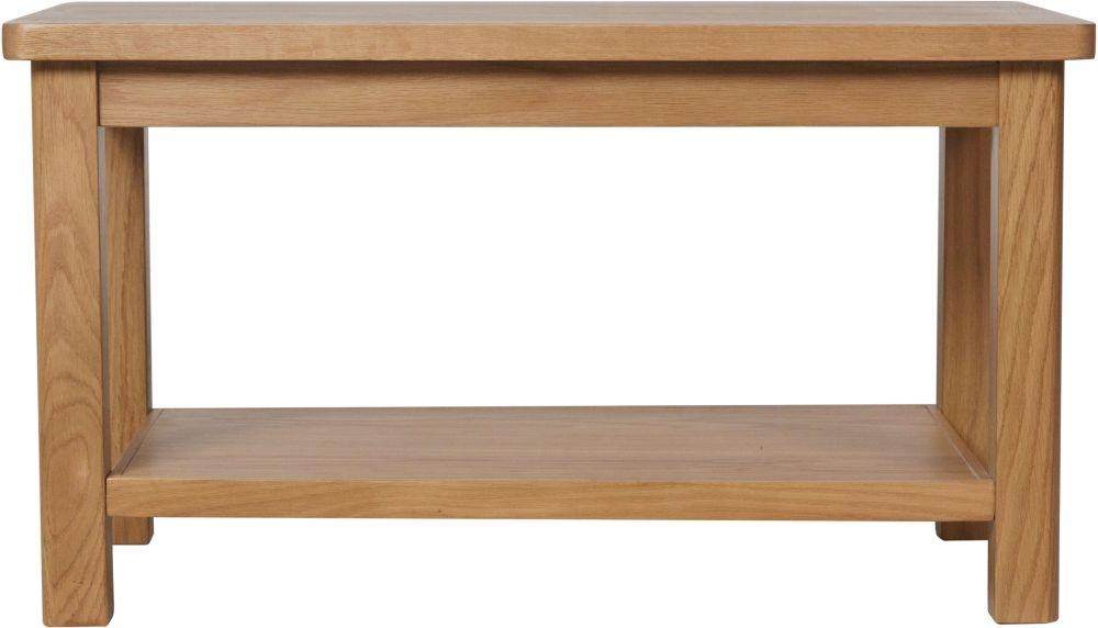Hampton Rustic Oak Coffee Table