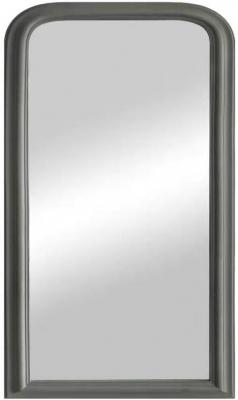 Grey Leaner Arch Mirror - 70cm x 100cm