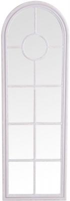 Grey Arch Window Mirror - 60cm x 180cm