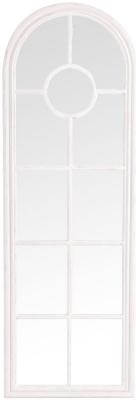 White Arch Window Mirror - 60cm x 180cm