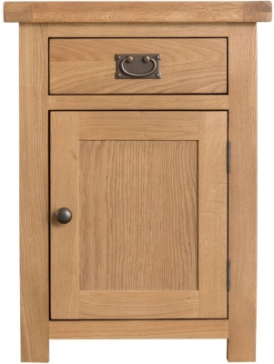 Tucson Oak 1 Door 1 Drawer Cupboard