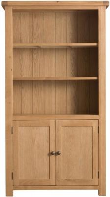 Tucson Oak 2 Door Bookcase