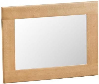 Tucson Oak Rectangular Wall Mirror - 80cm x 60cm