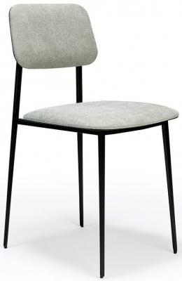 Ethnicraft DC Light Grey Dining Chair (Pair)