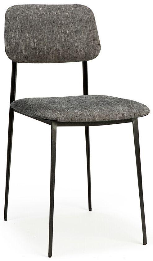 Ethnicraft DC Dark Grey Dining Chair (Pair)