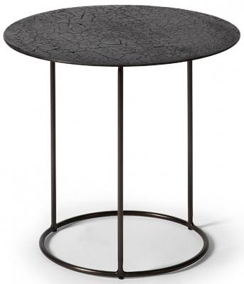 Ethnicraft Celeste Lava Black Side Table