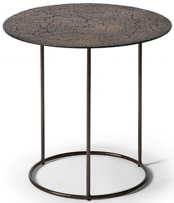 Ethnicraft Celeste Lava Whisky Side Table